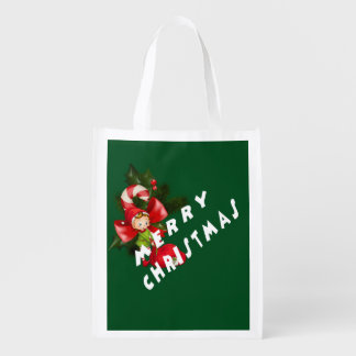 Last Year Christmas Reusable Grocery Bag