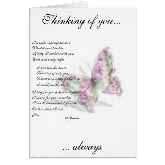 Lasting heartache card