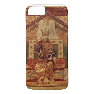 Lat 1152 f.3v Charlemagne (Carolus Magnus, Charles iPhone 7 Case