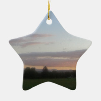 Late Afternoon Ceramic Ornament