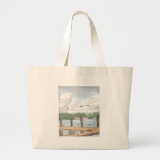 Late Afternoon Large Tote Bag