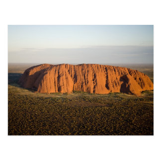 Late Afternoon Light on Uluru / Ayers Rock, Postcard