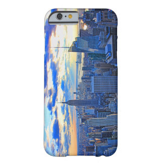 Late afternoon NYC Skyline as sunset approaches W Barely There iPhone 6 Case
