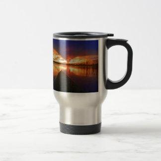 Late Afternoon Sunset Travel Mug