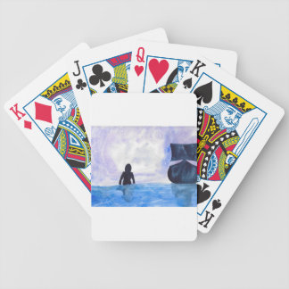 Late Night Swim Bicycle Playing Cards