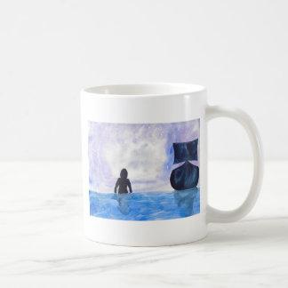 Late Night Swim Coffee Mug