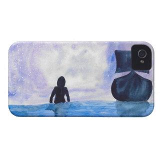 Late Night Swim iPhone 4 Case