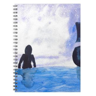 Late Night Swim Note Book
