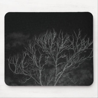 Late Night Tree Mouse Pad