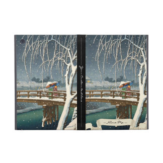 Late Snow Along Edo River hasui kawase winter art iPad Mini Cover