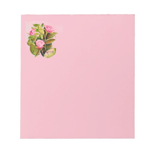 Late Spring Roses Notepad