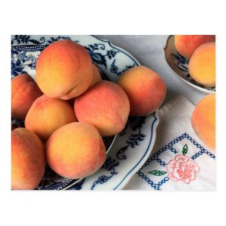 Late Summer Peaches Postcard