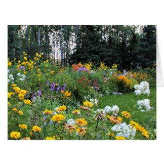 Late Summer Tent Garden Card