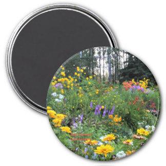 Late Summer Tent Gardens Magnet