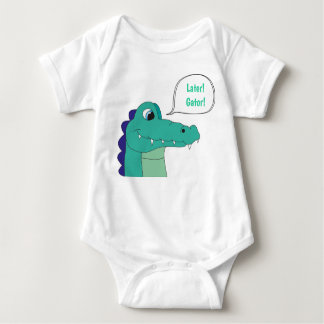 Later! Gator! Baby Bodysuit