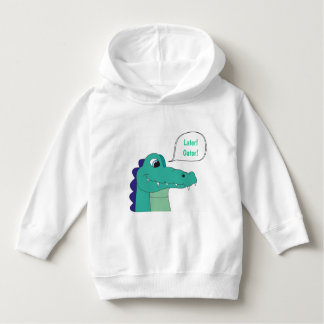 Later! Gator! Toddler Pullover Hoodie