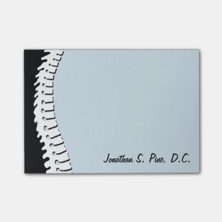Lateral Spine Personalized Post-It Notes