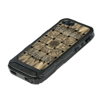 Latest African Lovely Woven Gray Hakuna Matata Incipio ATLAS ID™ iPhone 5 Case
