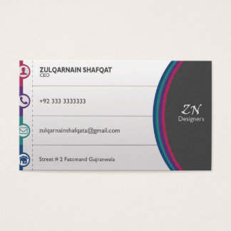 Latest Business card