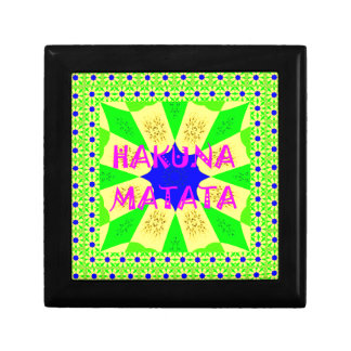 Latest Hakuna Matata Beautiful Amazing Design Colo Gift Box