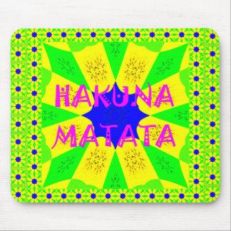 Latest Hakuna Matata Beautiful Amazing Design Colo Mouse Pad
