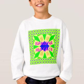 Latest Hakuna Matata Beautiful Amazing Design Colo Sweatshirt