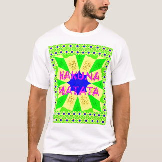 Latest Hakuna Matata Beautiful Amazing Design Colo T-Shirt