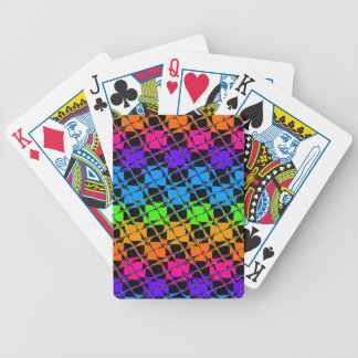 Latest lovely edgy colorful happy reflection desig bicycle playing cards