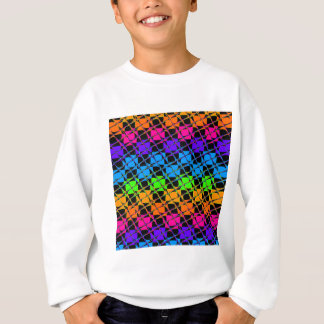 Latest lovely edgy colorful happy reflection desig sweatshirt