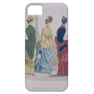 Latest Paris Fashions, three day dresses in a fash iPhone 5 Case