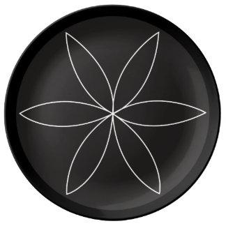 Lathe Flower 2 Plate