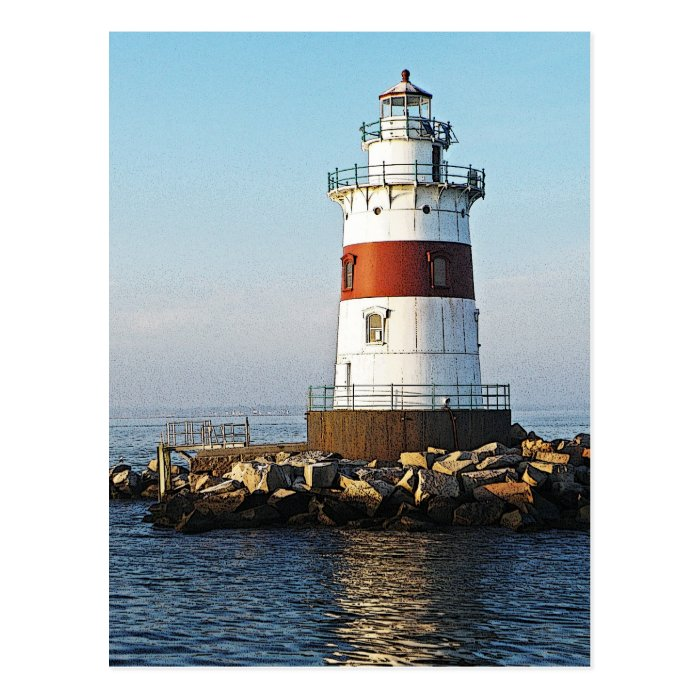 Latimer Reef Light Postcard