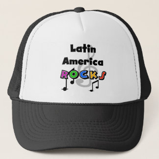 Latin America Rocks Trucker Hat