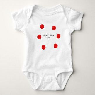 Latin Language Design (Lingua Latina) Baby Bodysuit