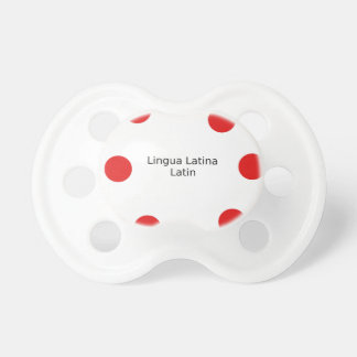 Latin Language Design (Lingua Latina) Pacifier