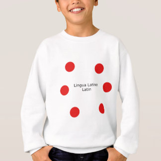 Latin Language Design (Lingua Latina) Sweatshirt