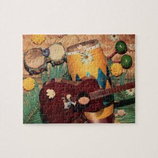 Latin music instruments jigsaw puzzle