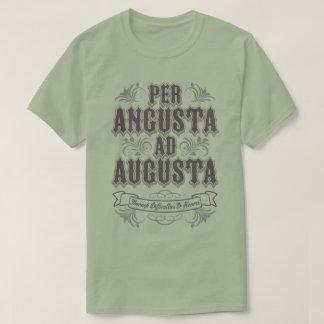 Latin Per Angusta Ad Augusta Difficulty Honor Tee