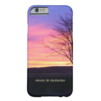Latin Quote LIve in the Moment Barely There iPhone 6 Case