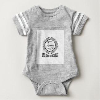 latin reminder toilet baby bodysuit
