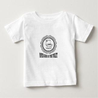 latin reminder toilet baby T-Shirt