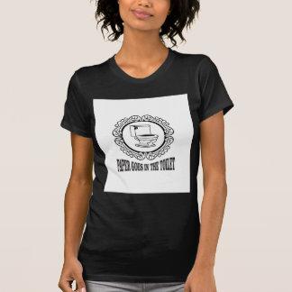latin reminder toilet T-Shirt