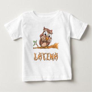 Latina Owl Baby T-Shirt
