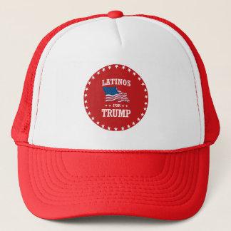 LATINOS FOR TRUMP TRUCKER HAT