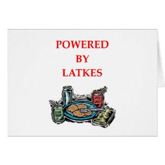 LATKES CARD