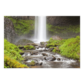 Latourell Falls, Columbia River Gorge, Oregon, Photo Print