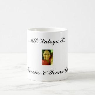 latoya-3, Mme Latoya B., GM de Tweens et d'ados Mug Blanc