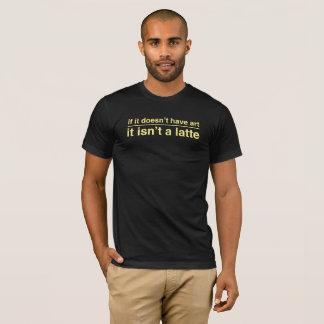 Latte Art T-Shirt