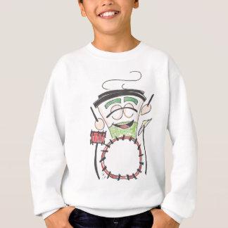 latte drummer color sweatshirt