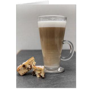 Latte Macchiato Card